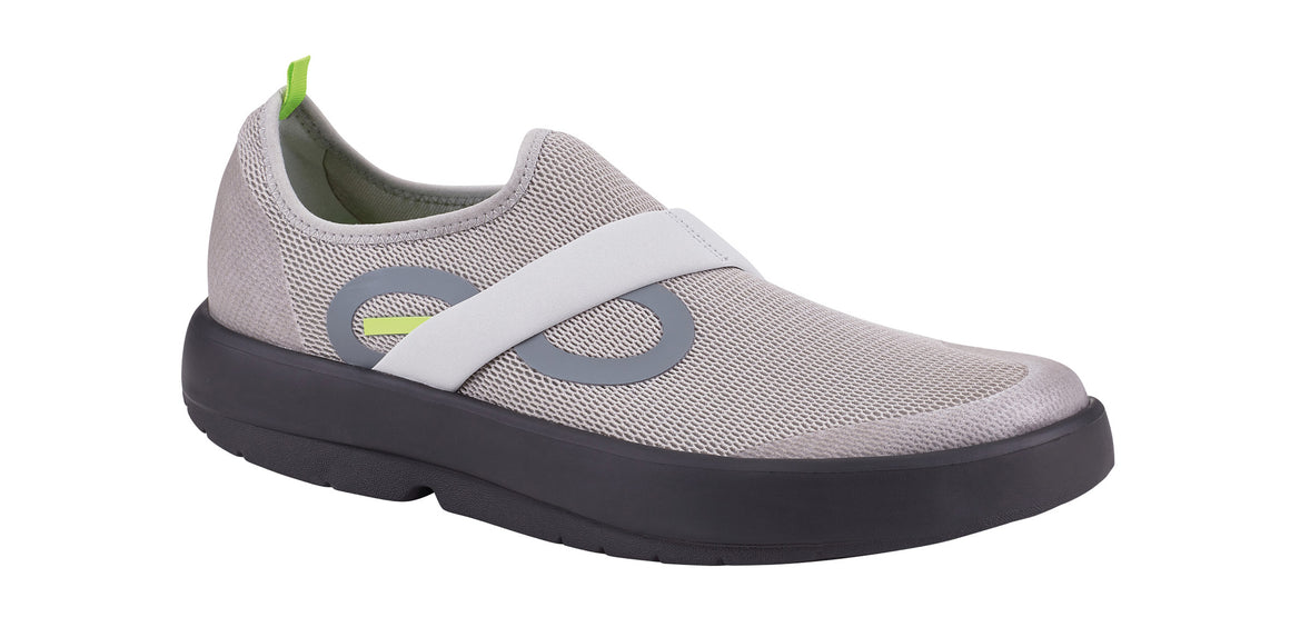 MEN'S OOMG LOW SHOE - BLACK & GRAY