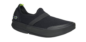 WOMEN'S OOMG LOW SHOE - BLACK & BLACK
