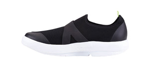 MEN'S OOMG LOW SHOE - WHITE & BLACK