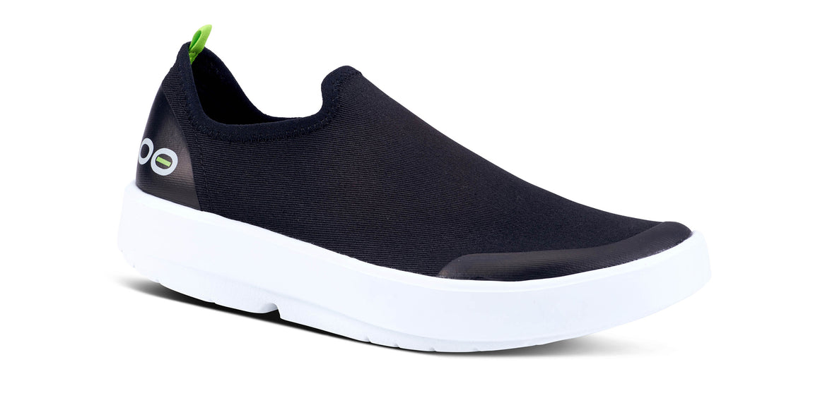 WOMEN'S OOMG EEZEE LOW WHITE & BLACK