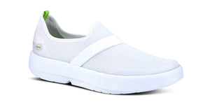 WOMEN'S OOMG LOW SHOE - WHITE & WHITE