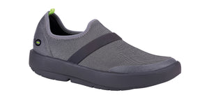 WOMEN'S OOMG FIBRE LOW SHOE - BLACK & GRAY