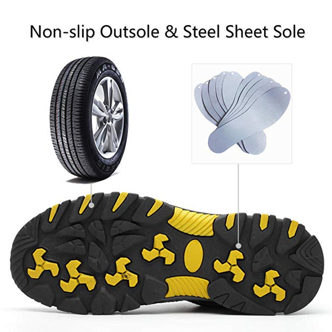 Steel Toe Battlefield Safety Shoes