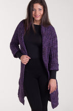 "Knit cardigan ""Up Front"""