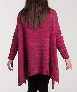 "Knit poncho ""Lazy Sunday"""