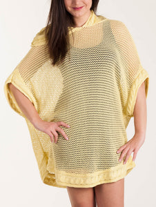 "Knit cover-up ""Vagabond"""