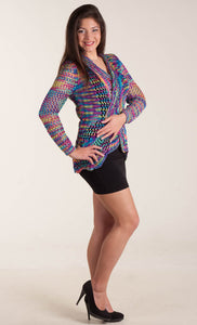 "Knit cardigan ""Free Spirit"""