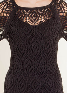 "Knit dress ""Mademoiselle"""