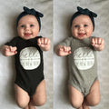 summer newborn infant baby boy girl cotton romper short sleeve cotton outfit clothes - ShoppingDailyDeals