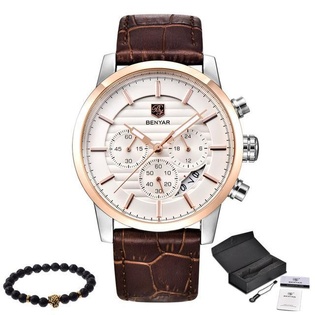 Top Brand Men's Waterproof Luxury Business Watches - ShoppingDailyDeals