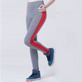 Summer Women High Waist Stretched Exercise Cotton Fitness Leggins - ShoppingDailyDeals