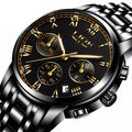 Men's Top Brand Luxury Quartz Steel Waterproof Business Watches - ShoppingDailyDeals