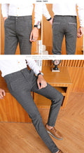 Men's High Quality Elastic Casual Business Dress Pants - ShoppingDailyDeals