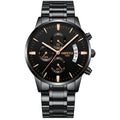 2018 Top Brand Luxury Men Fashion Stainless Steel Wristwatches - ShoppingDailyDeals