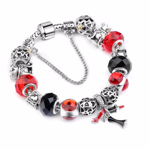 Women Crystal Beads Bracelets & Bangles Jewelry - ShoppingDailyDeals
