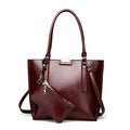 Women's Vintage High Quality 2 Pcs/Set Fashion Women Tote Designer Shoulder Bags - ShoppingDailyDeals