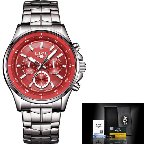 Men's Business Waterproof Top Brand Luxury Fashion Casual  Wristwatch - ShoppingDailyDeals