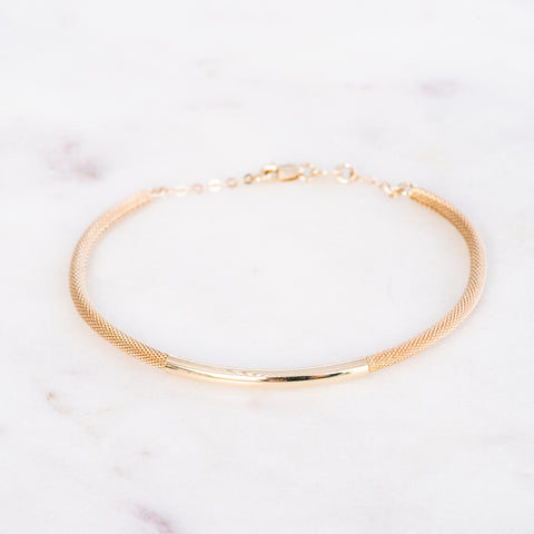 Felicia Adjustable Bangle Bracelet