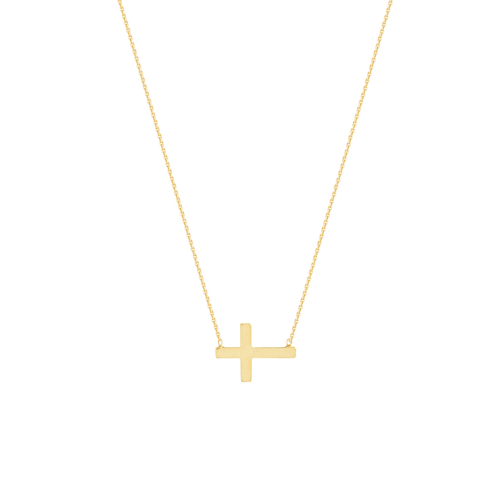 Mini Cross Necklace