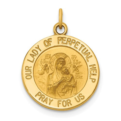 Our Lady of Perpetual Help 14K Yellow - Solid