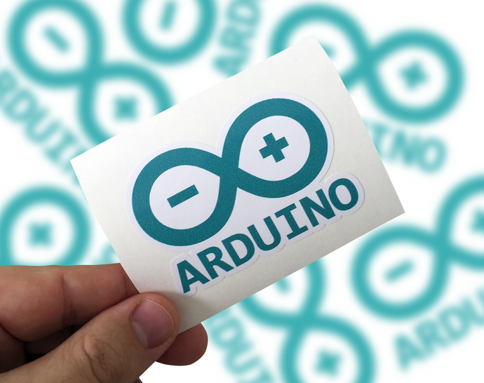 Arduino Sticker, Arduino Laptop Sticker, Arduino Car Sticker, Arduino sticker