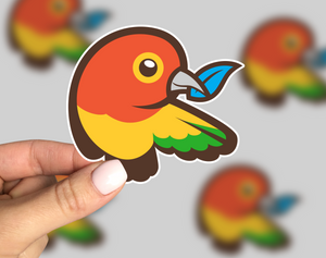 Bower Sticker, Bower Laptop Sticker, Bower Car Sticker, Bower Yeti Sticker