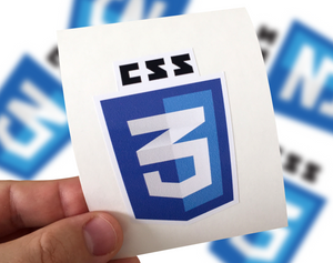 CSS Sticker, CSS Laptop Sticker, CSS Car Sticker, Css 3 sticker