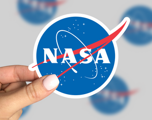Nasa Sticker, Nasa Laptop Sticker, Nasa Car Sticker, Nasa Yeti Sticker