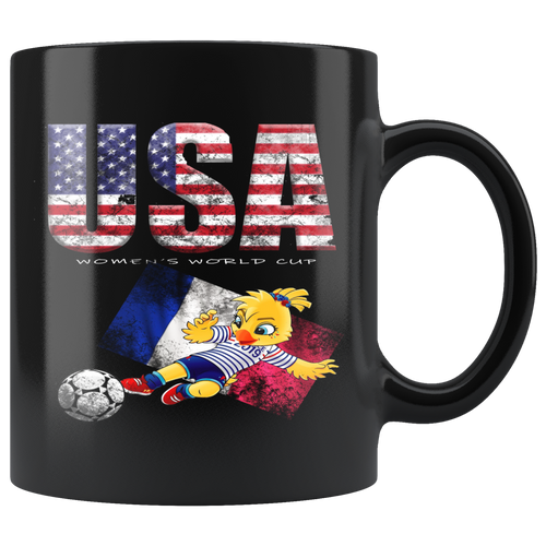 USA Women's Team Soccer Mug