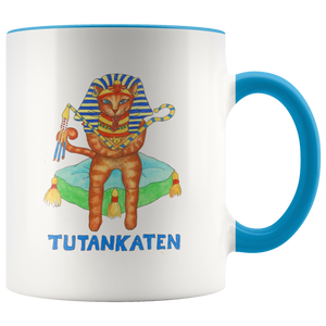 Cat Mug Tutankaten in 7 Colors