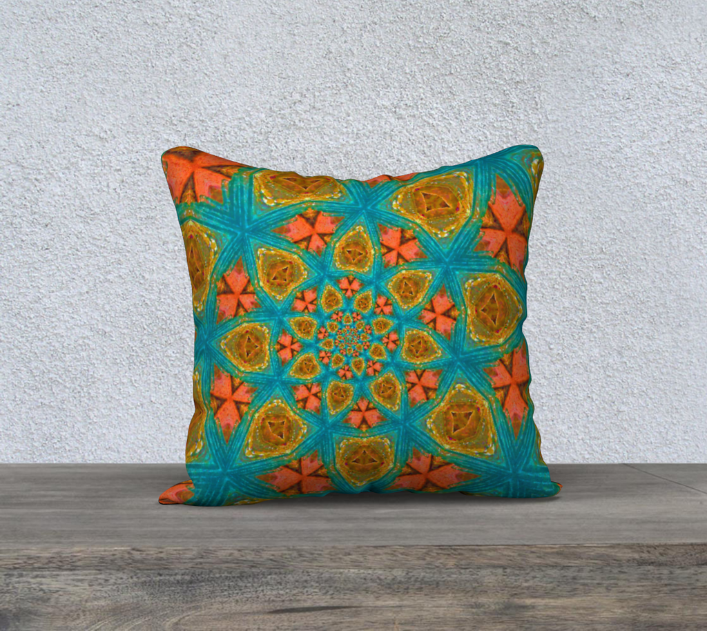 "southwest 18"" x 18"" Pillow Case {{ crystalmagicdesigns }}"
