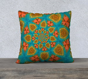 "southwest 22"" x 22"" Pillow Case {{ crystalmagicdesigns }}"