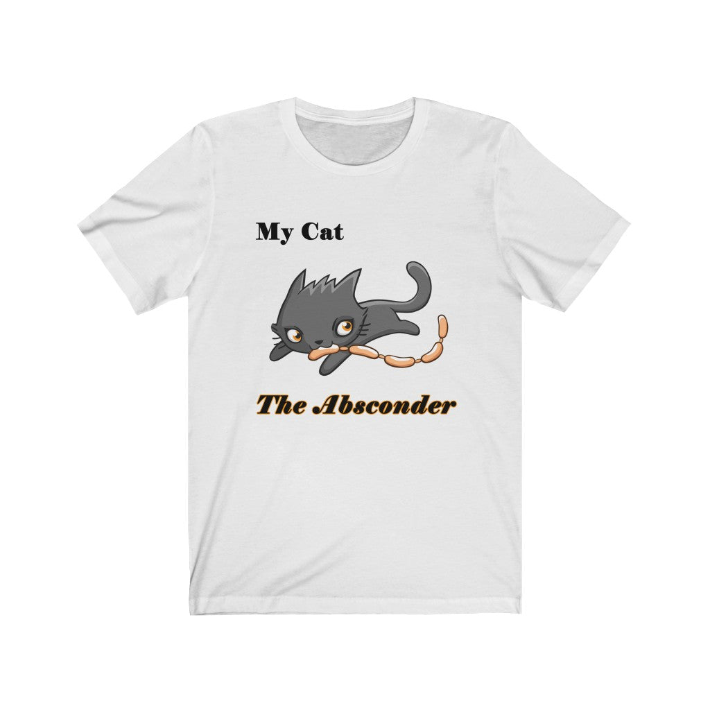 The Absconder Cat Personalize It Unisex T-shirt