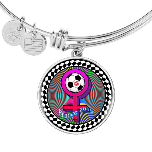 Women's World Cup 2019 Keepsake Charm Bracelet by SoccerT's Jewelry {{ crystalmagicdesigns }}
