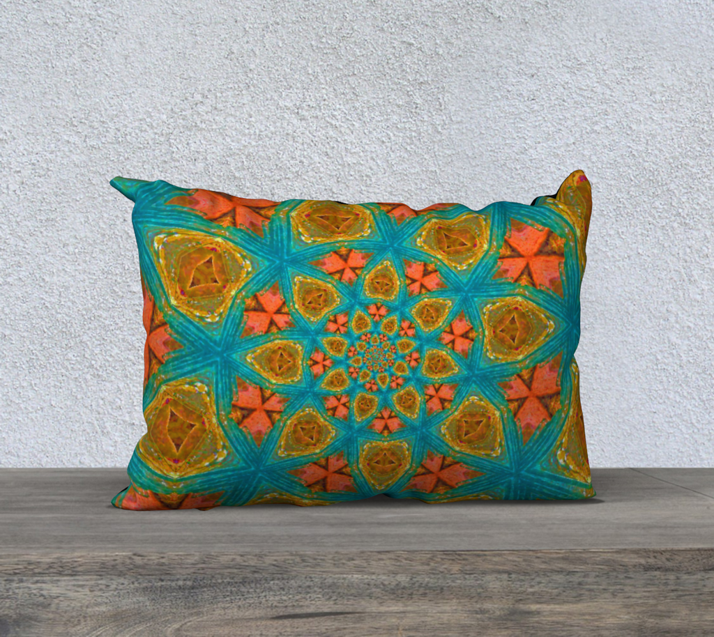 "southwest 20"" x 14"" Pillow Case {{ crystalmagicdesigns }}"