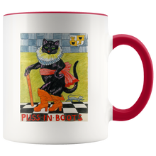 Puss in Cool Boots Cat Mug in 7 Colors