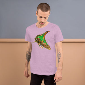 Insect Unisex T-Shirt of a Treehopper Tshirts Heather Prism Lilac / S {{ crystalmagicdesigns }}