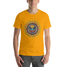 Tuscan Sunshine Girl Short-Sleeve Unisex T-Shirt up to 4X by Amanda Tshirts Gold / S {{ crystalmagicdesigns }}