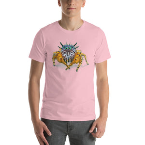 Insect Unisex T-Shirt Bad Hair Day jumping spider