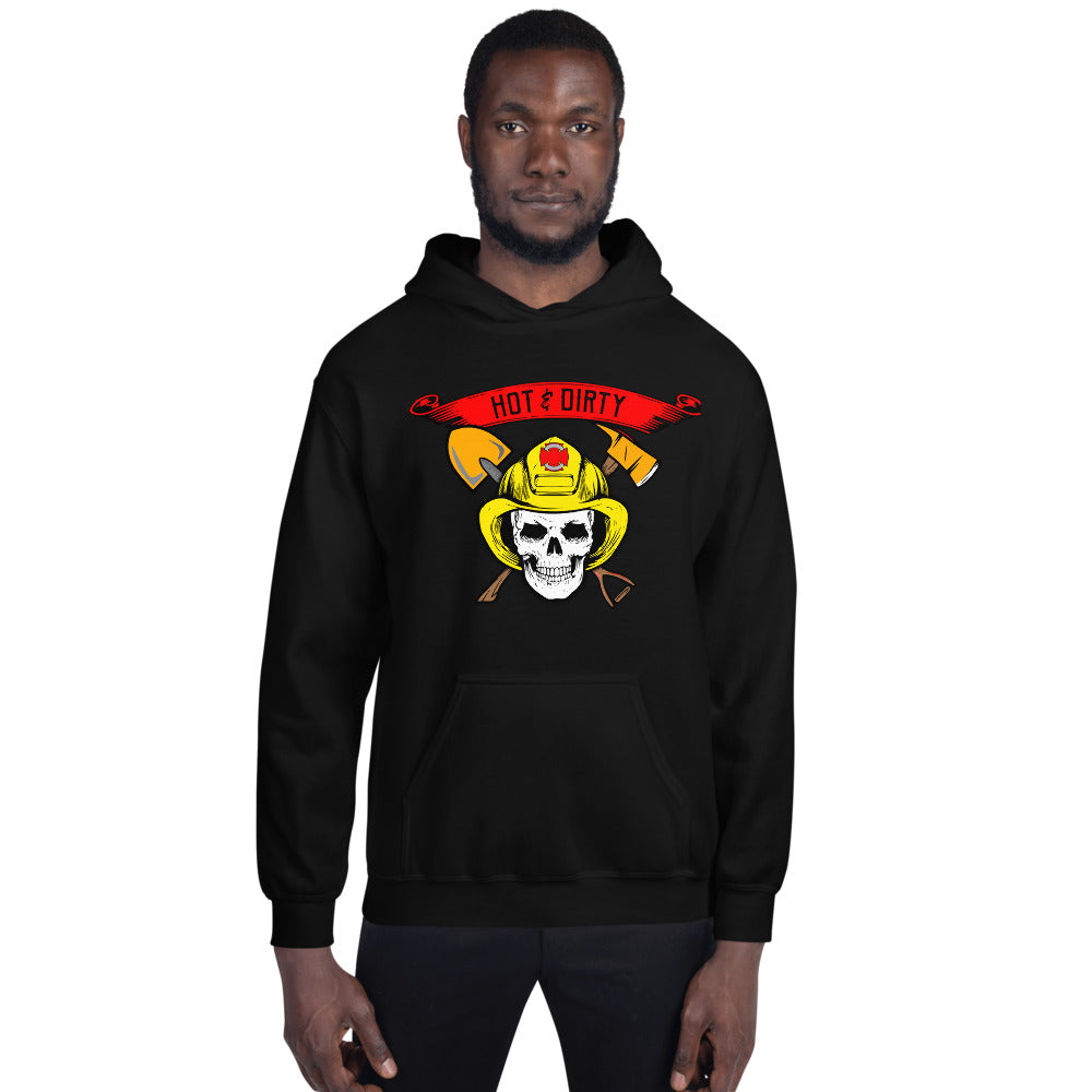 Forest Firefighter Hoodie Unisex Double-Sided Print