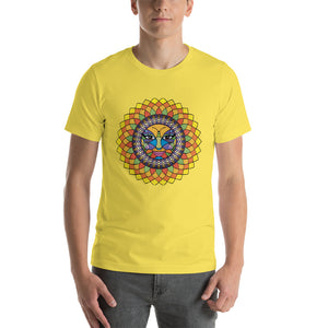 Tuscan Sunshine Girl Short-Sleeve Unisex T-Shirt up to 4X by Amanda Tshirts Yellow / S {{ crystalmagicdesigns }}