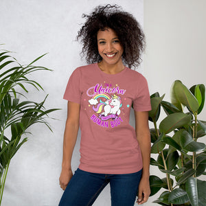Short-Sleeve Unisex T-Shirt Mauve / S {{ crystalmagicdesigns }}