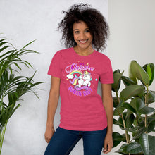 Short-Sleeve Unisex T-Shirt Heather Raspberry / S {{ crystalmagicdesigns }}