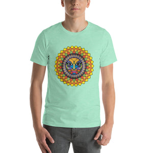 Tuscan Sunshine Girl Short-Sleeve Unisex T-Shirt up to 4X by Amanda Tshirts Heather Mint / S {{ crystalmagicdesigns }}