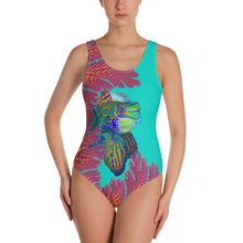One-Piece Swimsuit Coral Mandarins
