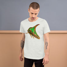 Insect Unisex T-Shirt of a Treehopper Tshirts Ash / S {{ crystalmagicdesigns }}