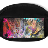 Fanny Pack Flow Painting Design Anti-Theft Cross Body fanny pack {{ crystalmagicdesigns }}