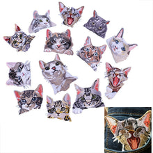 Pocket Cat Patch High Quality Lifelike 3D Embroidery Patches Iron On Cute Cat Applique For Jeans applique patch {{ crystalmagicdesigns }}