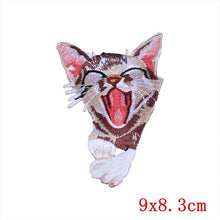 Pocket Cat Patch High Quality Lifelike 3D Embroidery Patches Iron On Cute Cat Applique For Jeans applique patch Transparent {{ crystalmagicdesigns }}