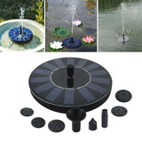 7V Solar Fountain kit Pump solar powered fountain {{ crystalmagicdesigns }}